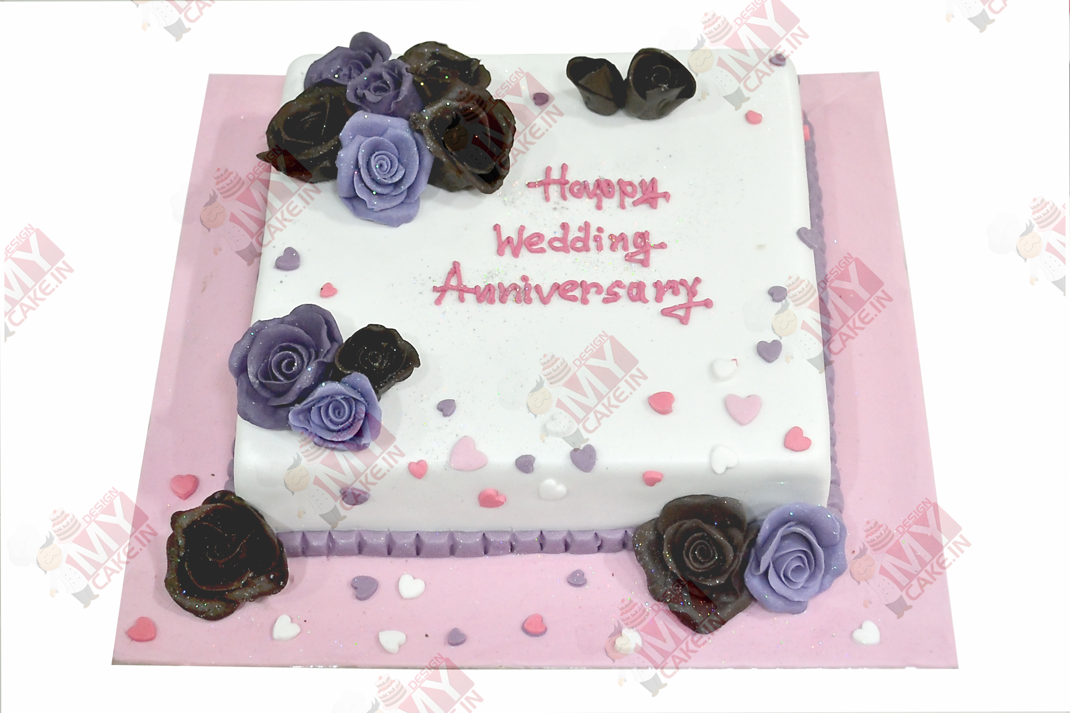 Send Anniversary Cakes Online in Kolkata - Design My Cake