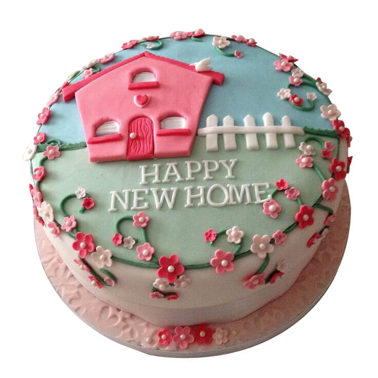 New Home Wishes Cake