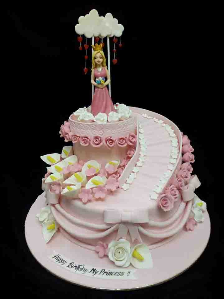 This Cake Will Be Sure Shot Delight For Your Angel DMC Has A Large Selection Of Designer Cakes Choose Any Or Else You Can Also Customize